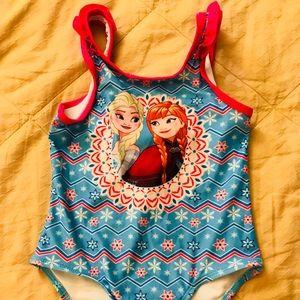 Disney Ana & Elsa one piece.